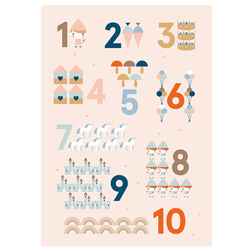 Poster Zahlen SONNTAGSKINDER