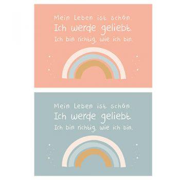 Postkarten Regenbogen