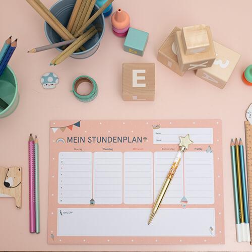 Stundenplan für Grundschüler