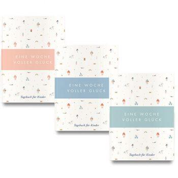 Tagebücher in allen Farbvarianten