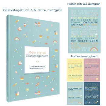 Geschenkset Kindergartenglück_mint