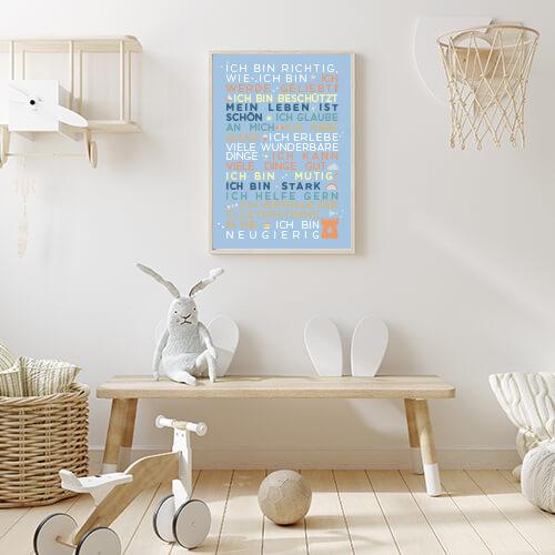 Poster_Kindergartenglückssätze_himmelblau